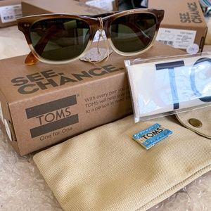 Toms Beach Master 301 Havana Sunglasses